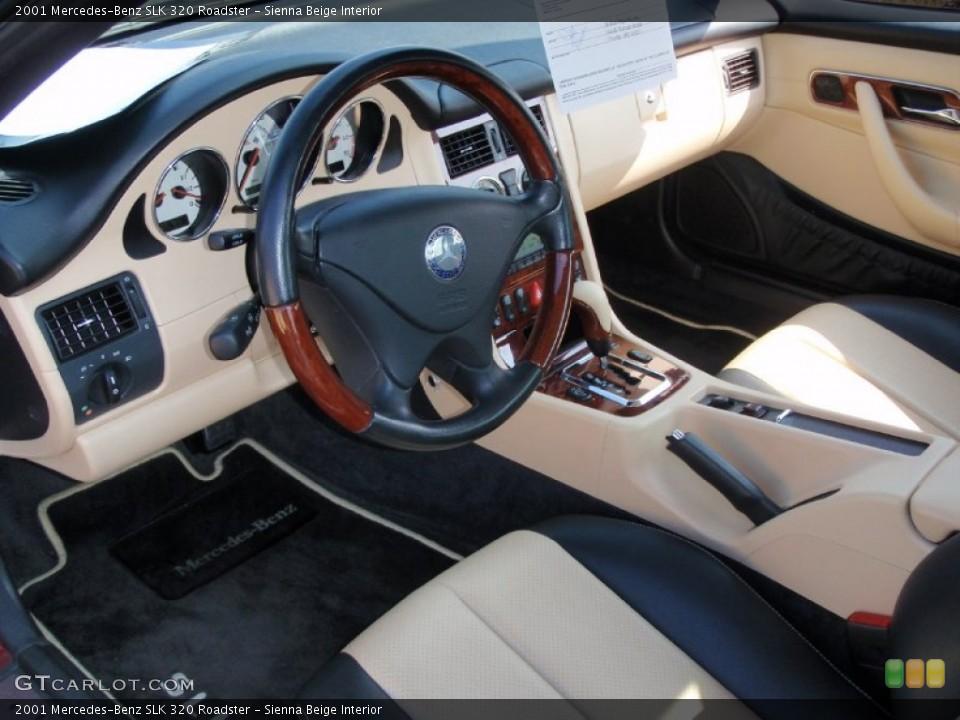 Sienna Beige 2001 Mercedes-Benz SLK Interiors
