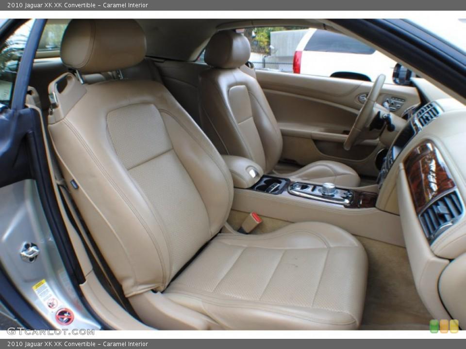 Caramel Interior Photo for the 2010 Jaguar XK XK Convertible #72859008