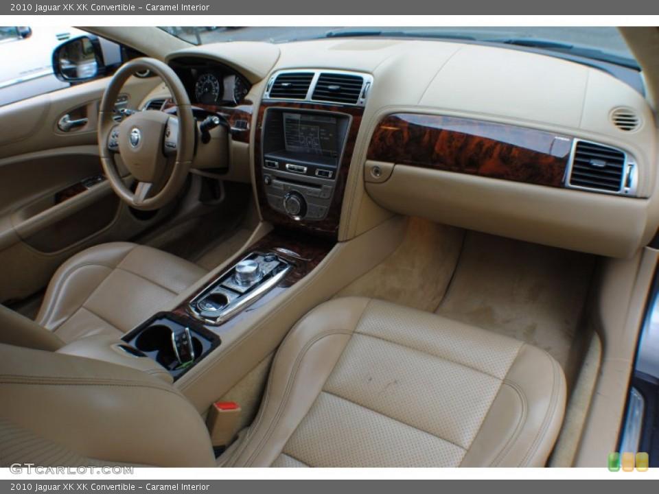 Caramel Interior Photo for the 2010 Jaguar XK XK Convertible #72859011