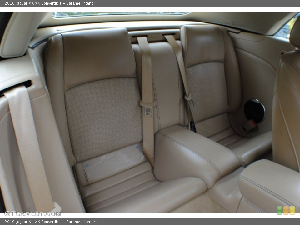 Caramel Interior Rear Seat for the 2010 Jaguar XK XK Convertible #72859014