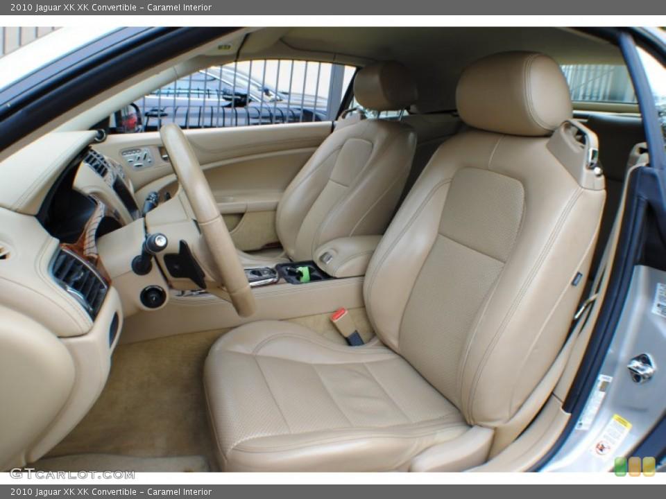 Caramel Interior Front Seat for the 2010 Jaguar XK XK Convertible #72859020