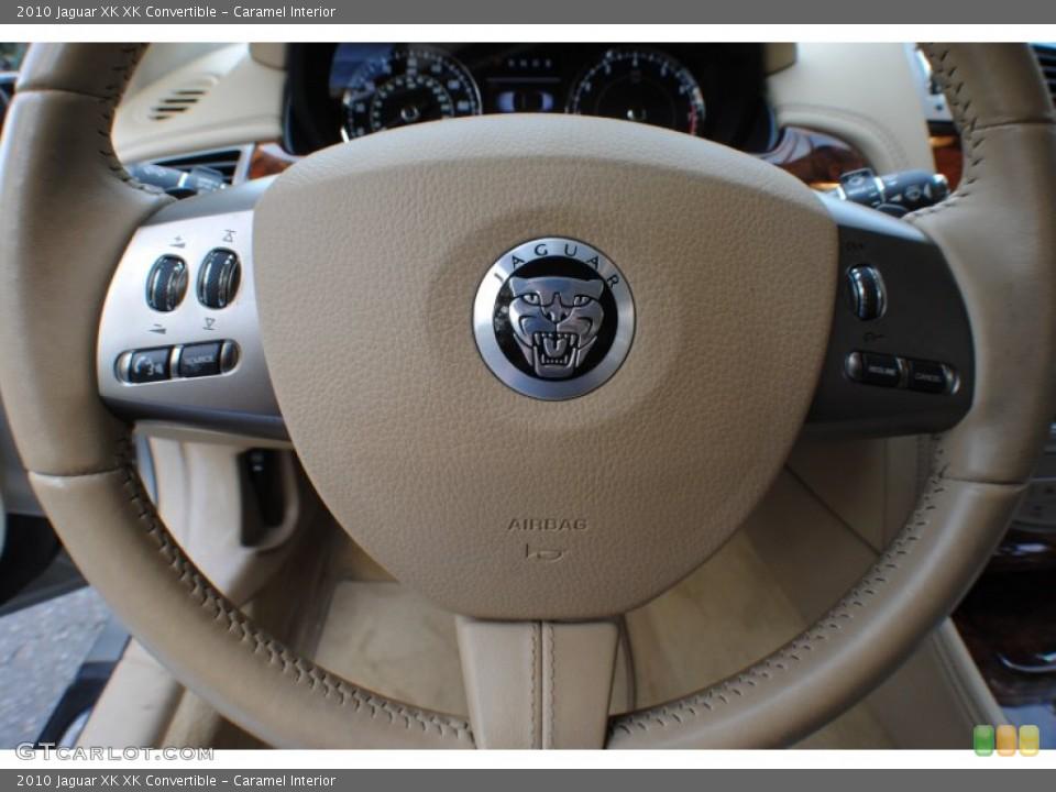 Caramel Interior Steering Wheel for the 2010 Jaguar XK XK Convertible #72859035