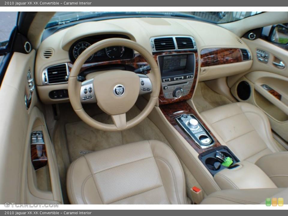 Caramel Interior Prime Interior for the 2010 Jaguar XK XK Convertible #72859038