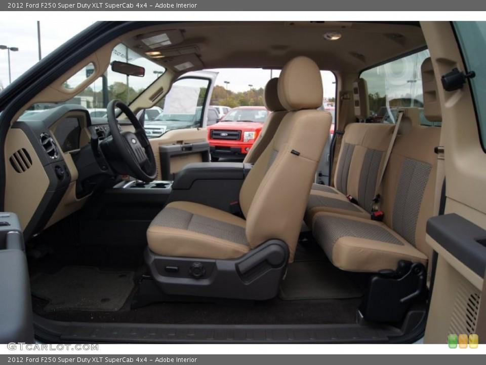 Adobe 2012 Ford F250 Super Duty Interiors