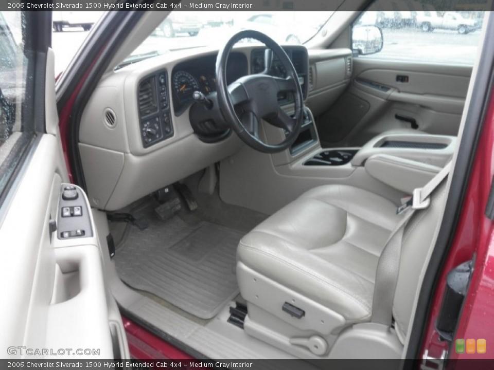 Medium Gray 2006 Chevrolet Silverado 1500 Interiors