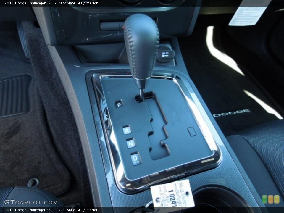 Dark Slate Gray Interior Transmission for the 2013 Dodge Challenger SXT #73159692