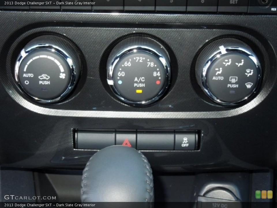 Dark Slate Gray Interior Controls for the 2013 Dodge Challenger SXT #73159709