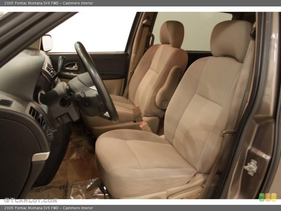 Cashmere Interior Photo for the 2005 Pontiac Montana SV6 FWD #73193010