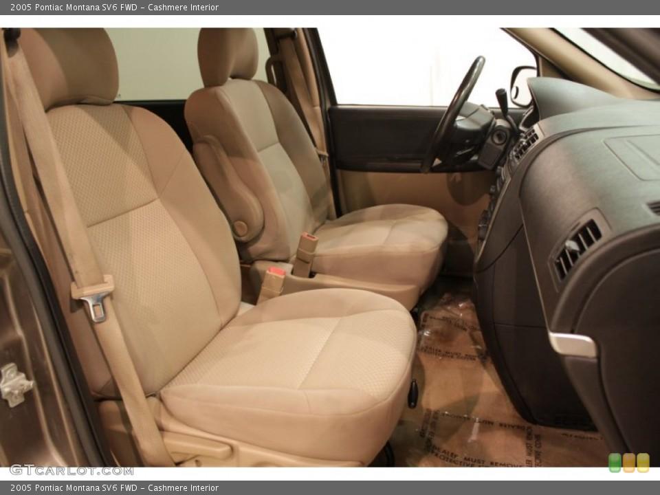 Cashmere Interior Photo for the 2005 Pontiac Montana SV6 FWD #73193142