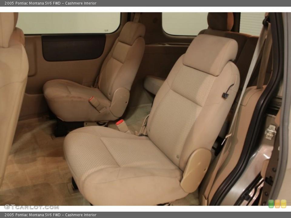 Cashmere Interior Rear Seat for the 2005 Pontiac Montana SV6 FWD #73193190