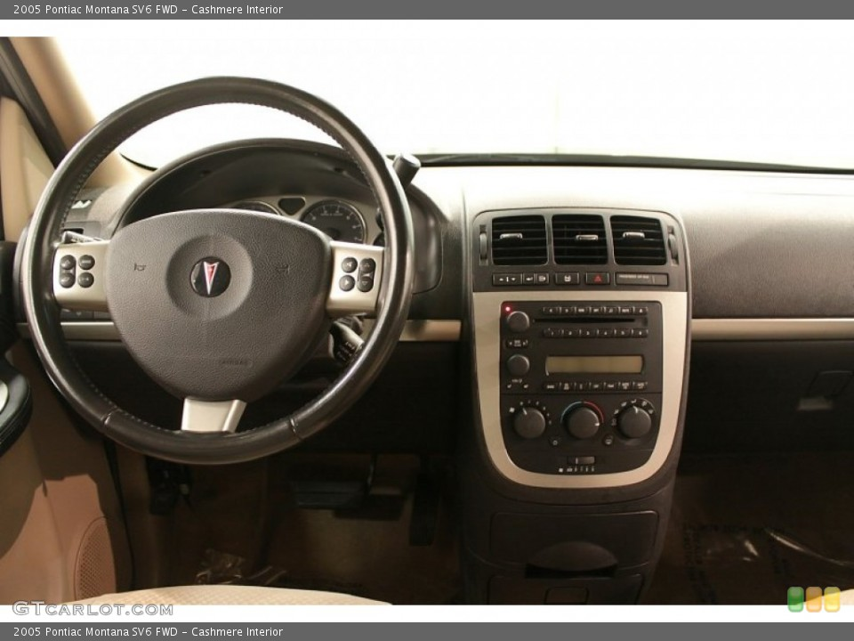 Cashmere Interior Dashboard for the 2005 Pontiac Montana SV6 FWD #73193256