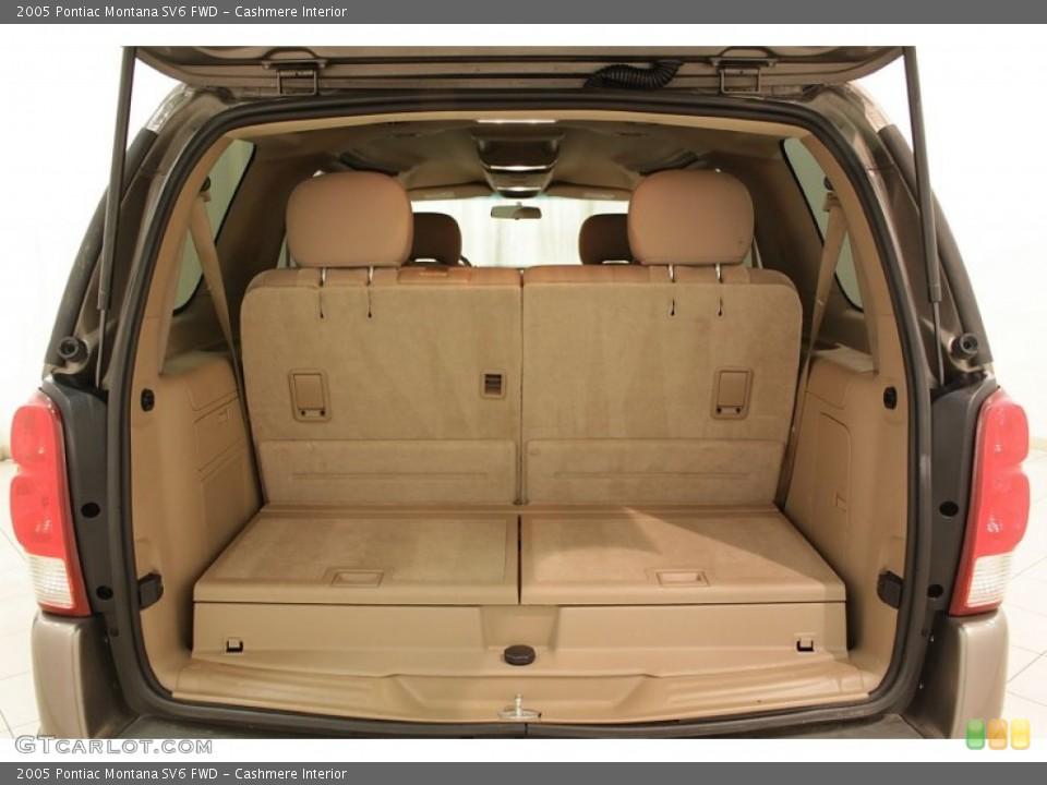 Cashmere Interior Trunk for the 2005 Pontiac Montana SV6 FWD #73193281