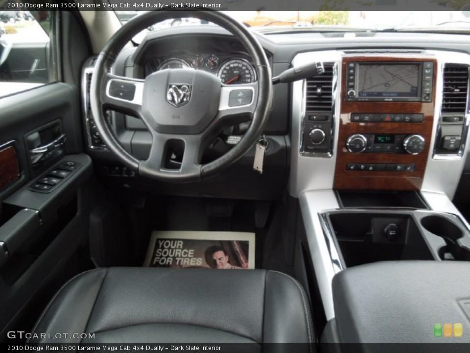 Dark Slate Interior Dashboard for the 2010 Dodge Ram 3500 Laramie Mega Cab 4x4 Dually #73246496