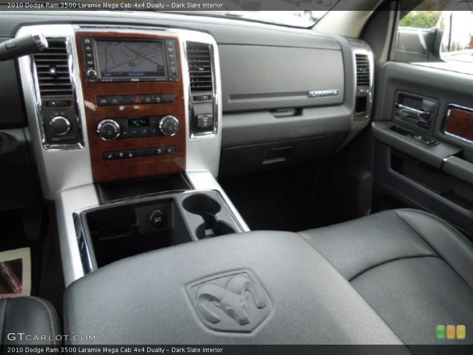 Dark Slate Interior Dashboard for the 2010 Dodge Ram 3500 Laramie Mega Cab 4x4 Dually #73246518