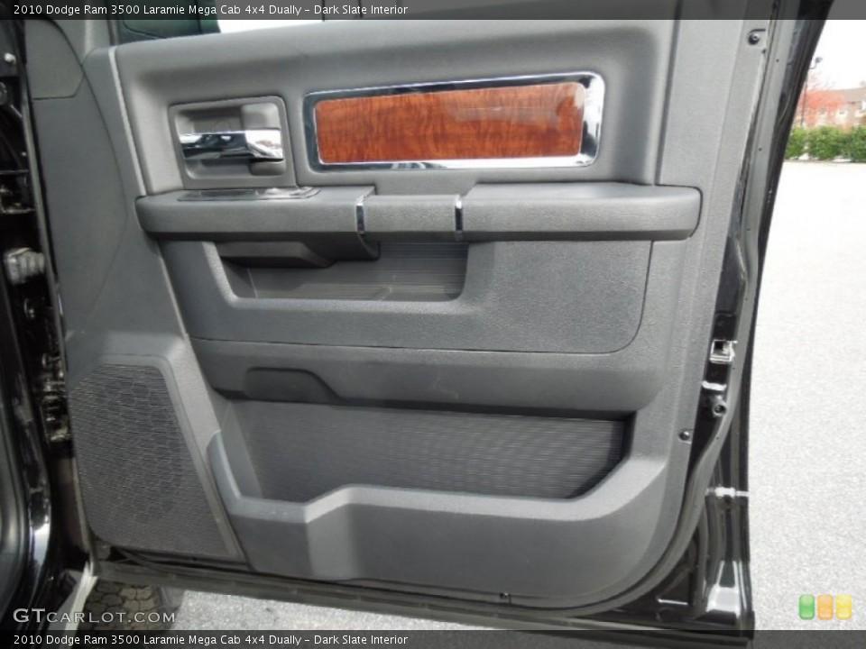 Dark Slate Interior Door Panel for the 2010 Dodge Ram 3500 Laramie Mega Cab 4x4 Dually #73246623