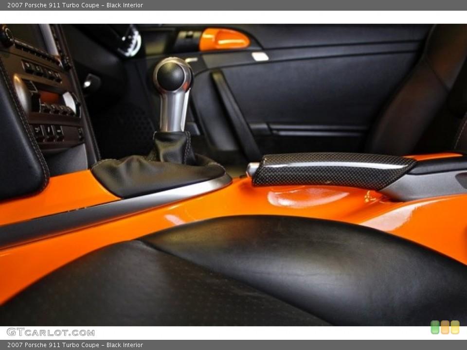 Black Interior Photo for the 2007 Porsche 911 Turbo Coupe #73370299