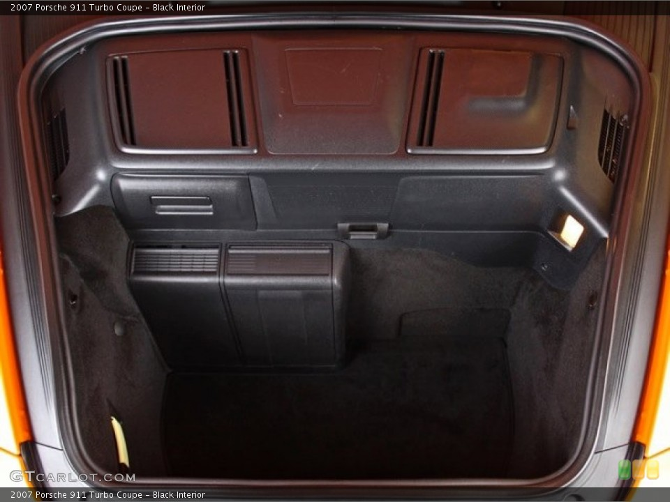 Black Interior Trunk for the 2007 Porsche 911 Turbo Coupe #73370424