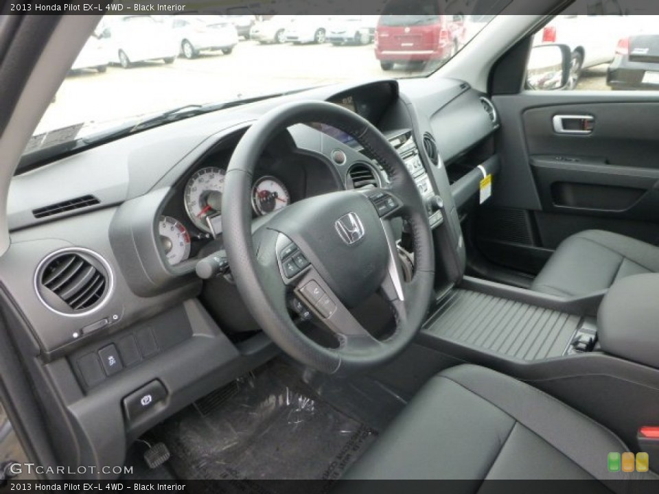 Black 2013 Honda Pilot Interiors