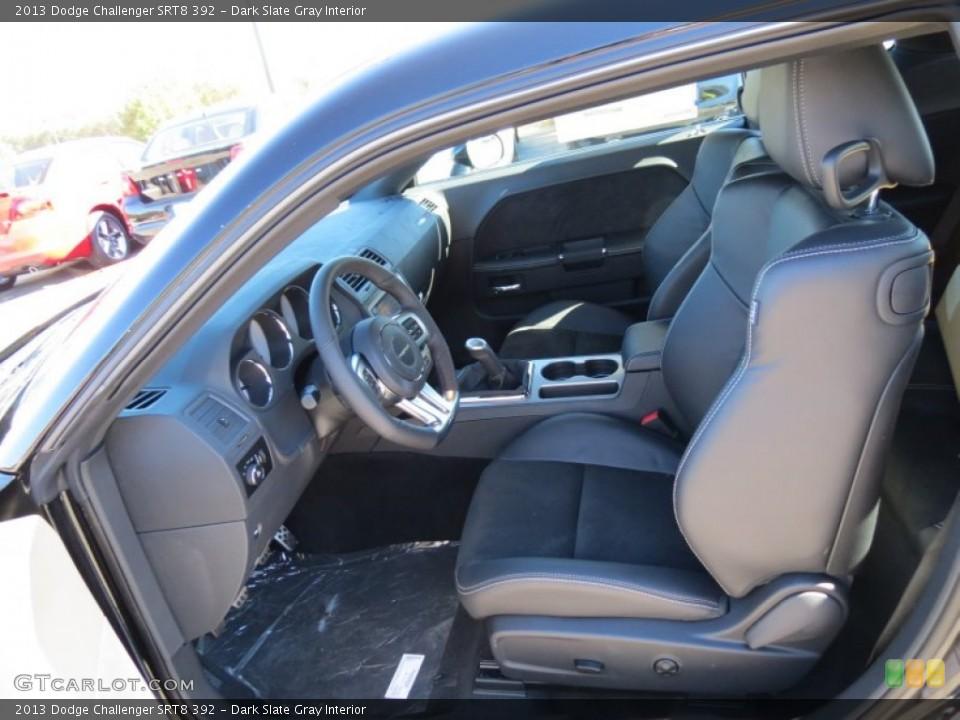 Dark Slate Gray Interior Photo for the 2013 Dodge Challenger SRT8 392 #73503733