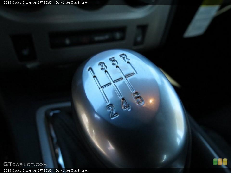 Dark Slate Gray Interior Transmission for the 2013 Dodge Challenger SRT8 392 #73503890