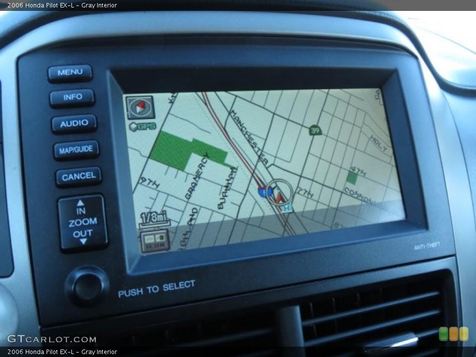 Gray Interior Navigation for the 2006 Honda Pilot EX-L #73506936