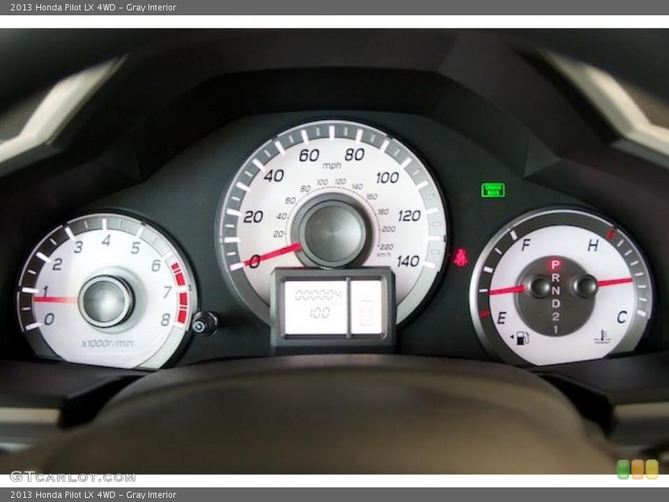 Gray Interior Gauges for the 2013 Honda Pilot LX 4WD #73563464