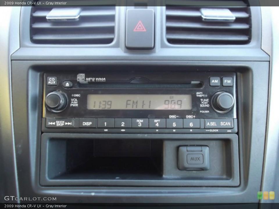 Gray Interior Controls for the 2009 Honda CR-V LX #73579499