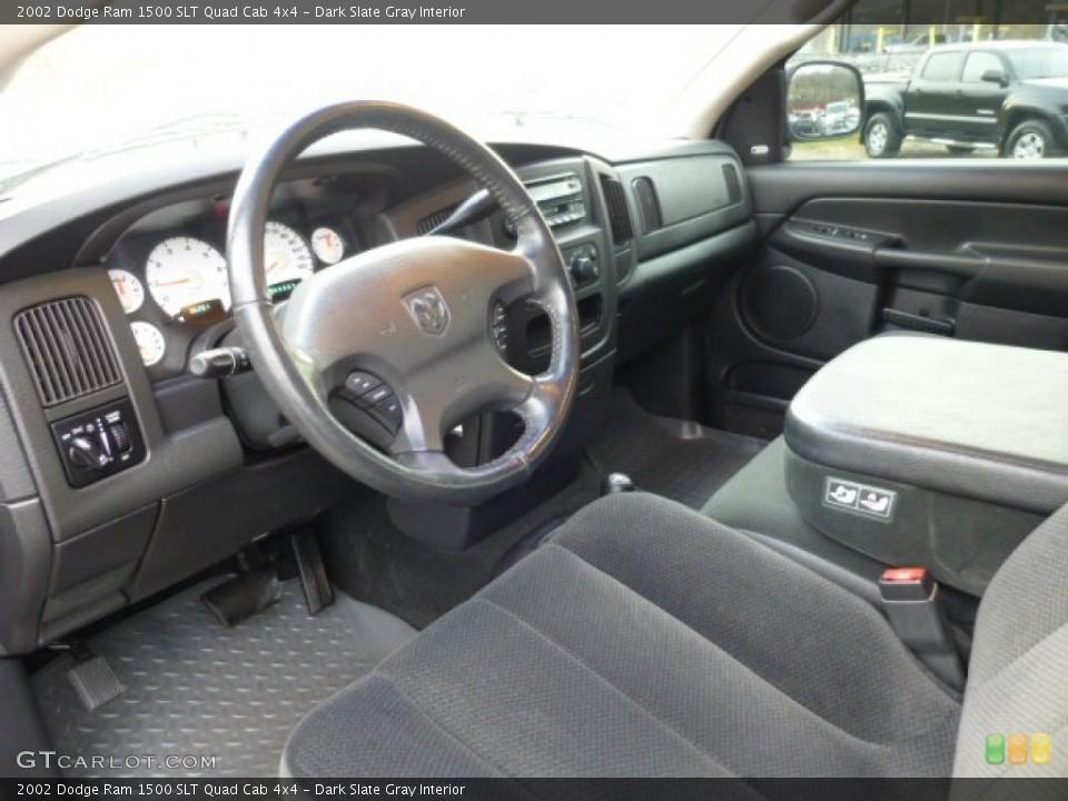 Dark Slate Gray 2002 Dodge Ram 1500 Interiors