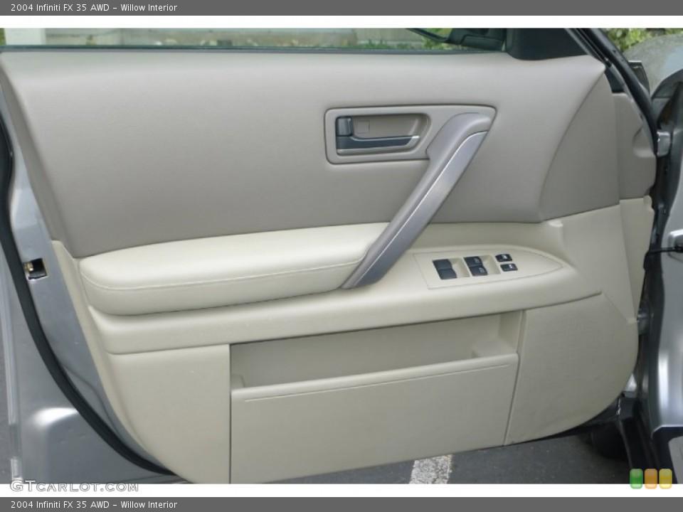 Willow Interior Door Panel for the 2004 Infiniti FX 35 AWD #73792553