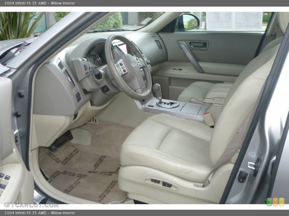 Willow Interior Prime Interior for the 2004 Infiniti FX 35 AWD #73792562