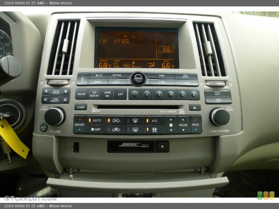Willow Interior Controls for the 2004 Infiniti FX 35 AWD #73792688