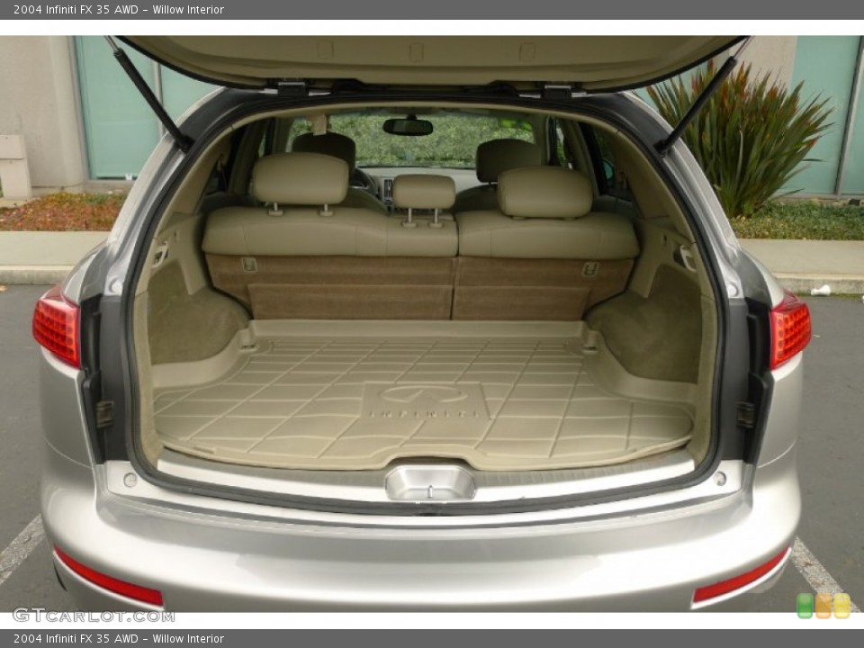 Willow Interior Trunk for the 2004 Infiniti FX 35 AWD #73792748
