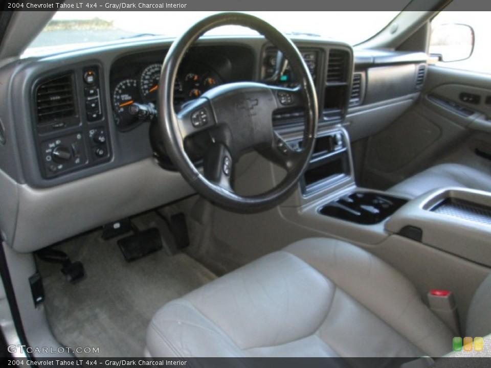 Gray/Dark Charcoal 2004 Chevrolet Tahoe Interiors