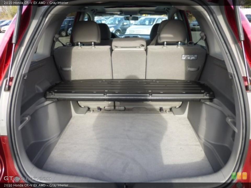 Gray Interior Trunk for the 2010 Honda CR-V EX AWD #73813034