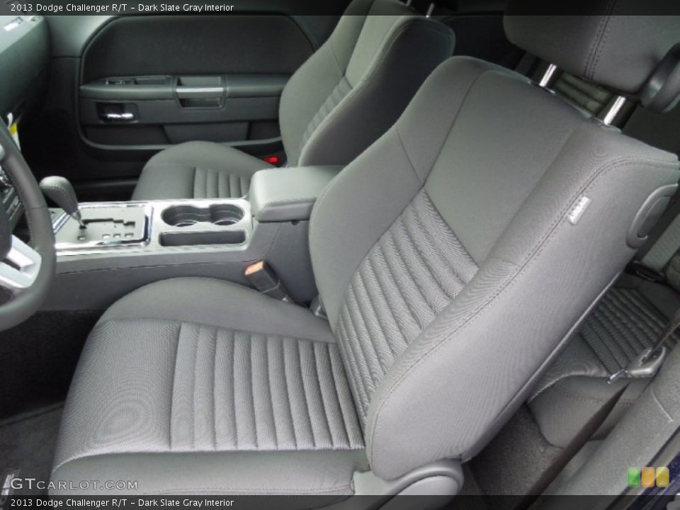 Dark Slate Gray Interior Front Seat for the 2013 Dodge Challenger R/T #73862548