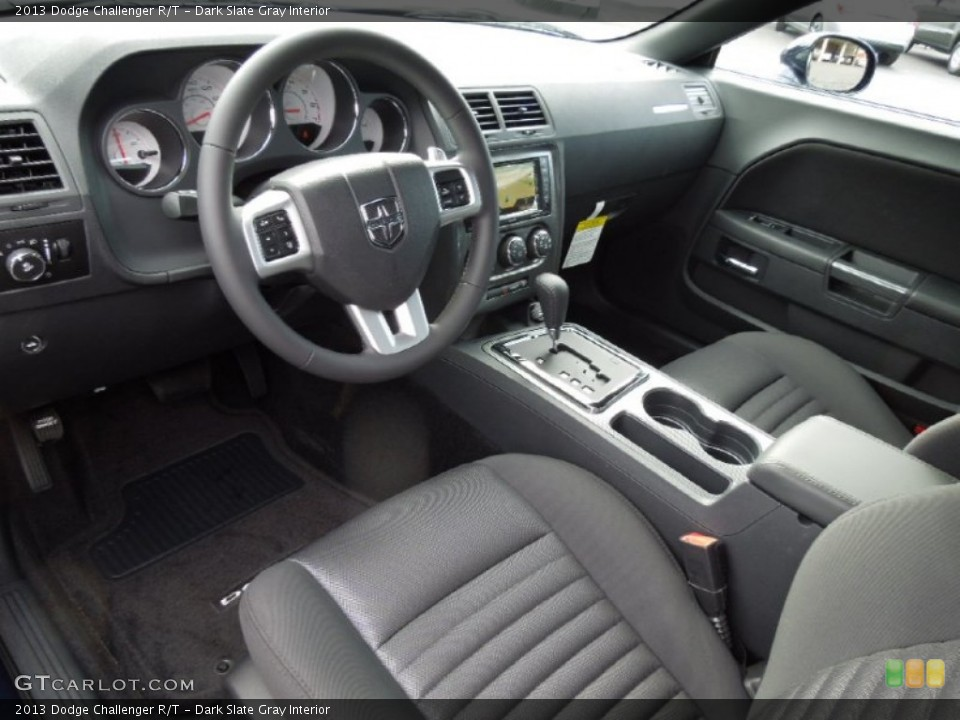 Dark Slate Gray Interior Prime Interior for the 2013 Dodge Challenger R/T #73862636