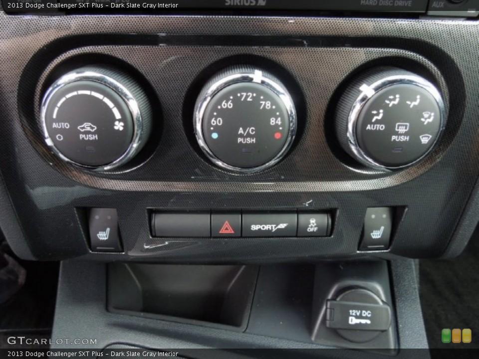 Dark Slate Gray Interior Controls for the 2013 Dodge Challenger SXT Plus #73862939