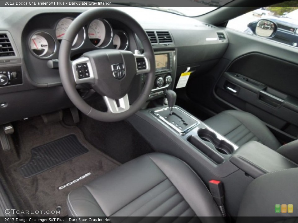 Dark Slate Gray Interior Prime Interior for the 2013 Dodge Challenger SXT Plus #73863023