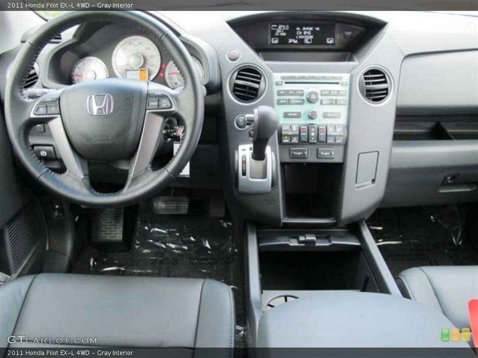 Gray Interior Dashboard for the 2011 Honda Pilot EX-L 4WD #73875923