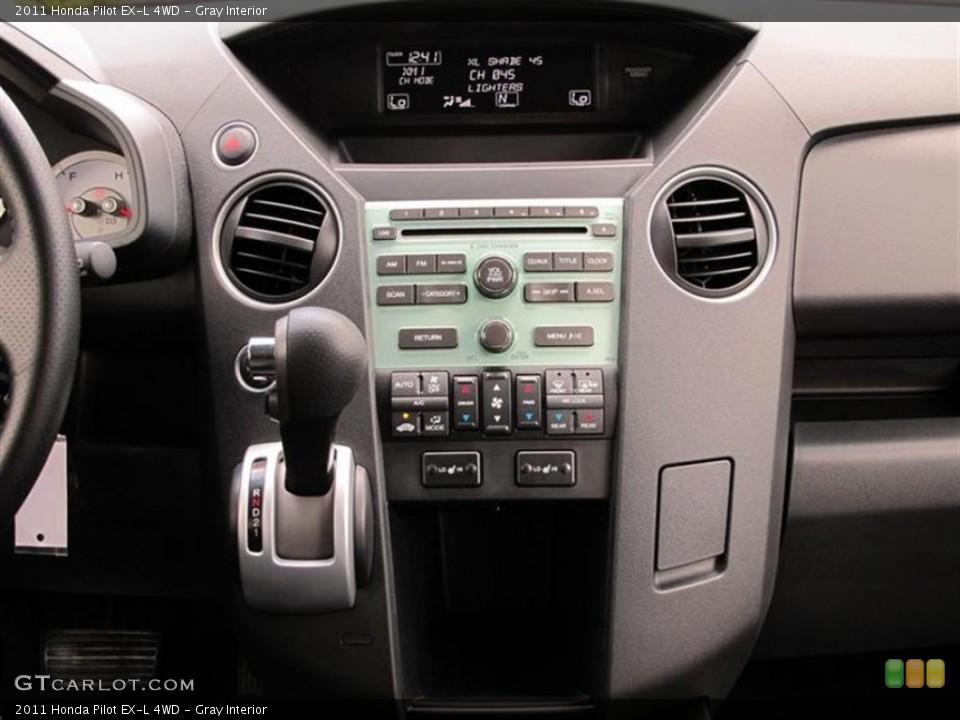 Gray Interior Controls for the 2011 Honda Pilot EX-L 4WD #73875950