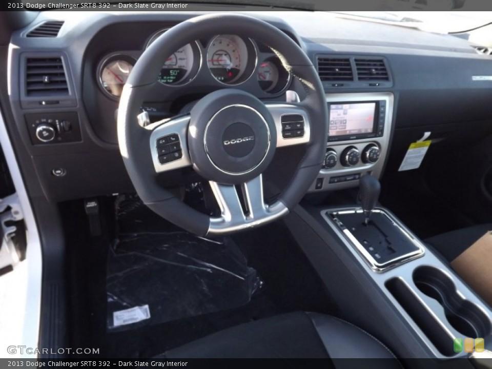 Dark Slate Gray Interior Photo for the 2013 Dodge Challenger SRT8 392 #74000316