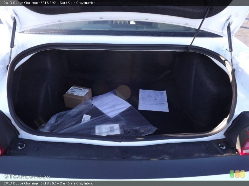 Dark Slate Gray Interior Trunk for the 2013 Dodge Challenger SRT8 392 #74000394