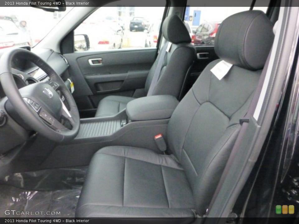 Black Interior Photo for the 2013 Honda Pilot Touring 4WD #74036697