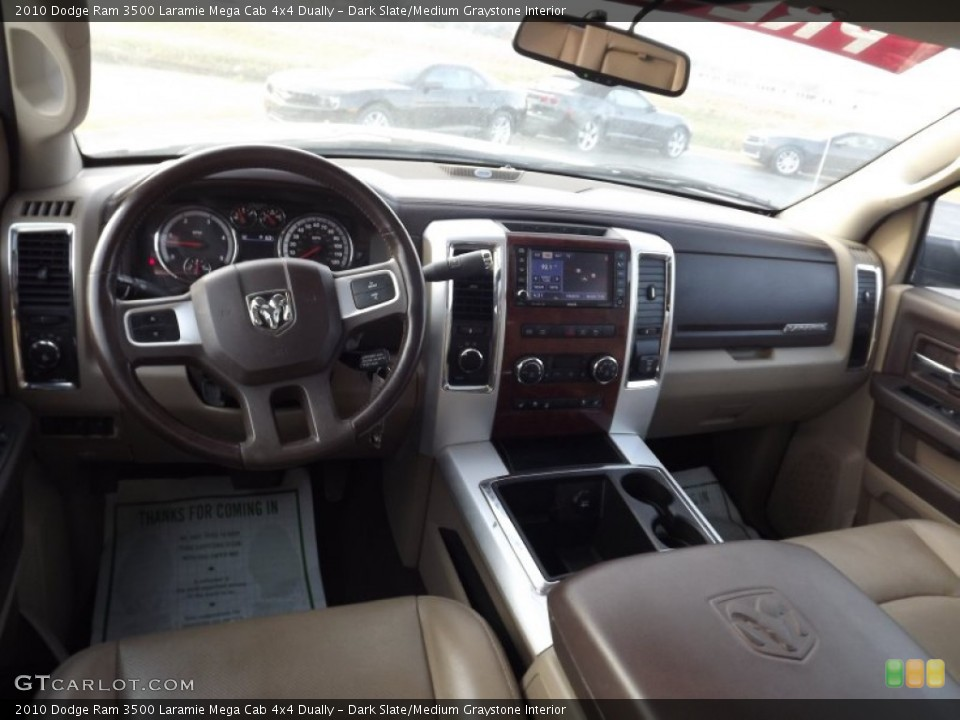 Dark Slate/Medium Graystone Interior Photo for the 2010 Dodge Ram 3500 Laramie Mega Cab 4x4 Dually #74159412