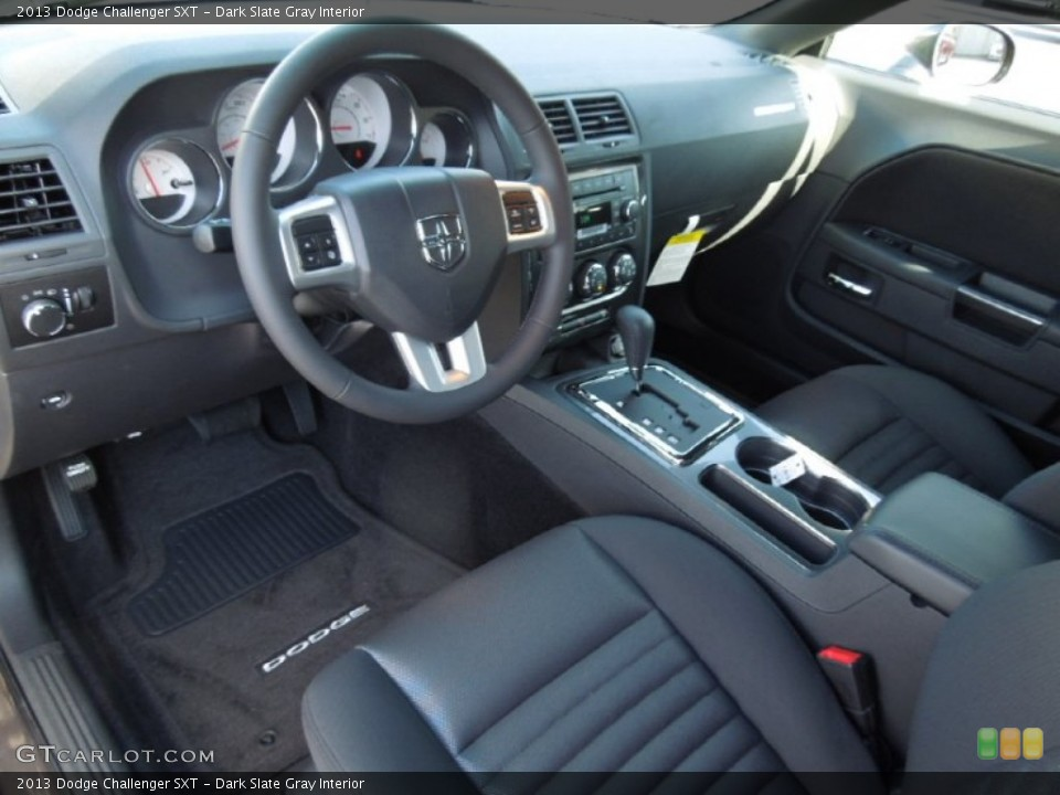 Dark Slate Gray Interior Prime Interior for the 2013 Dodge Challenger SXT #74167165