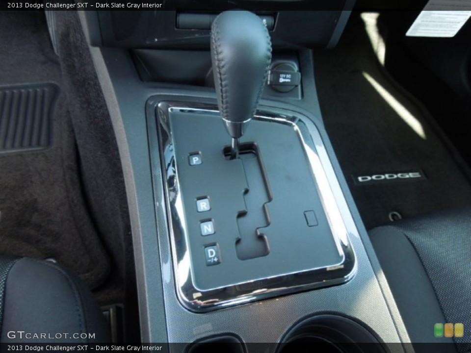 Dark Slate Gray Interior Transmission for the 2013 Dodge Challenger SXT #74167477