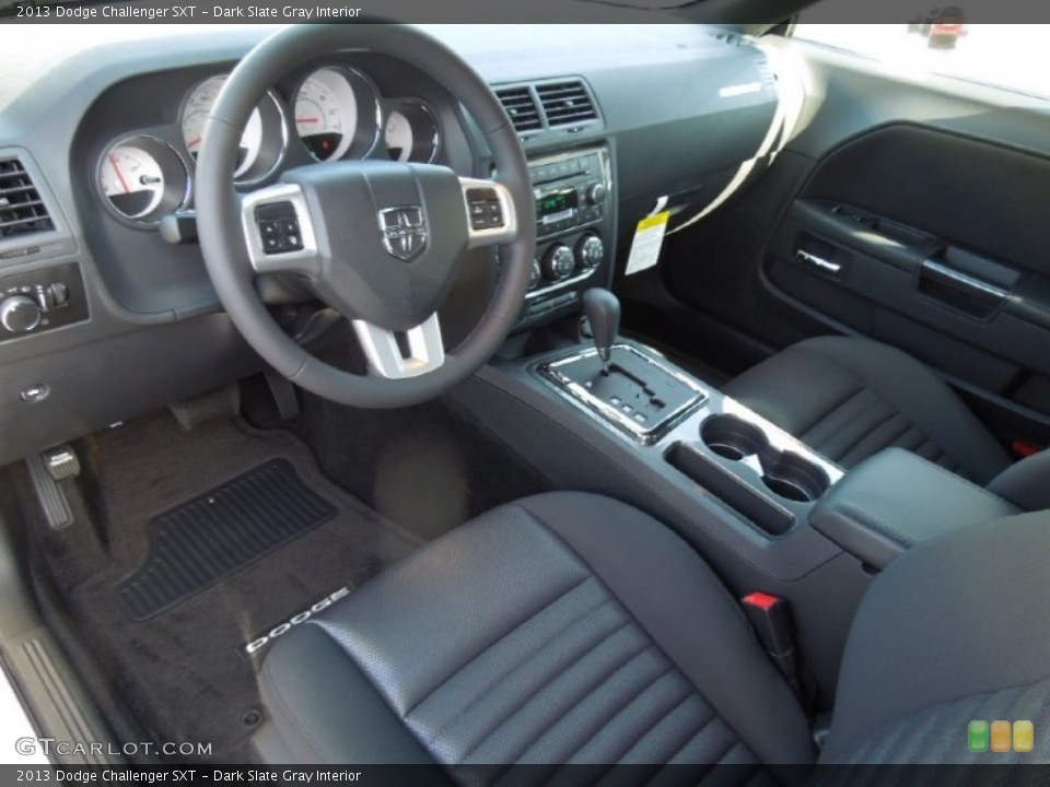 Dark Slate Gray Interior Prime Interior for the 2013 Dodge Challenger SXT #74167816