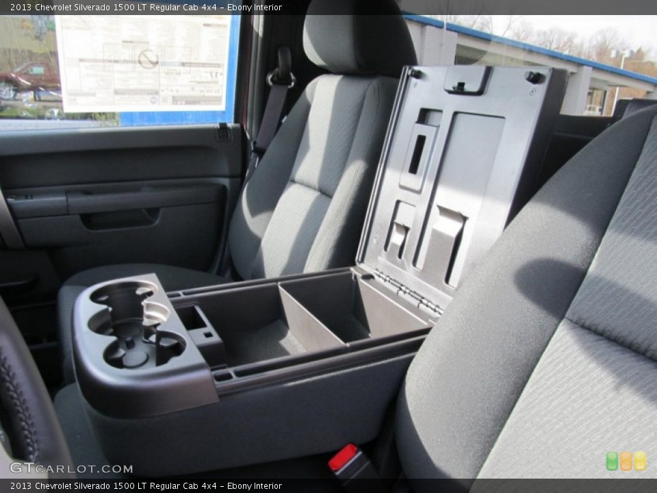 Ebony Interior Photo for the 2013 Chevrolet Silverado 1500 LT Regular Cab 4x4 #74173348
