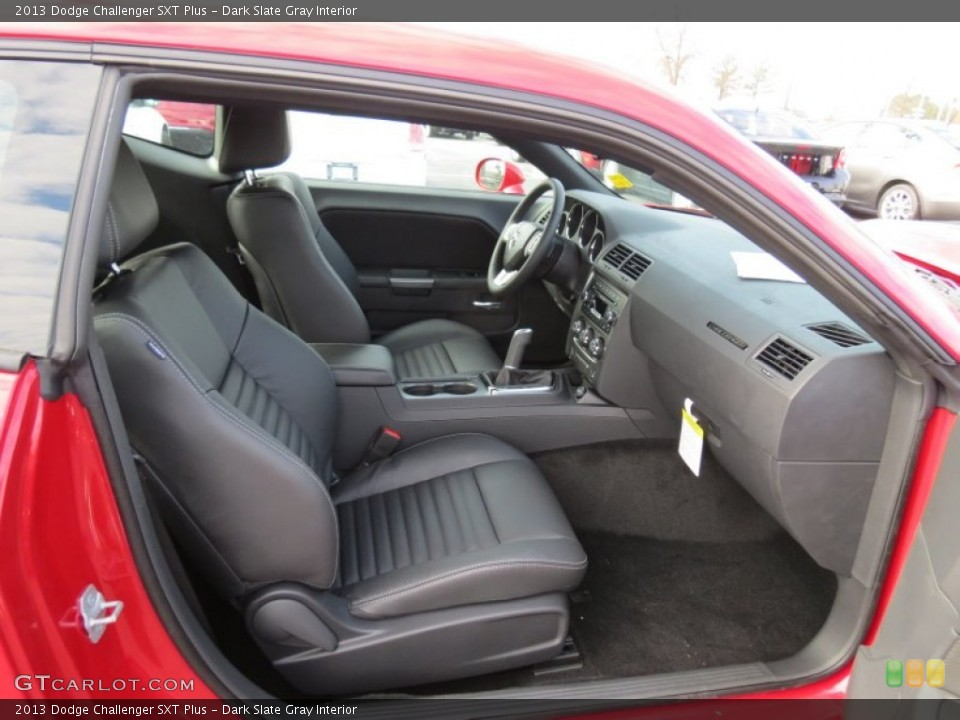 Dark Slate Gray Interior Photo for the 2013 Dodge Challenger SXT Plus #74185881