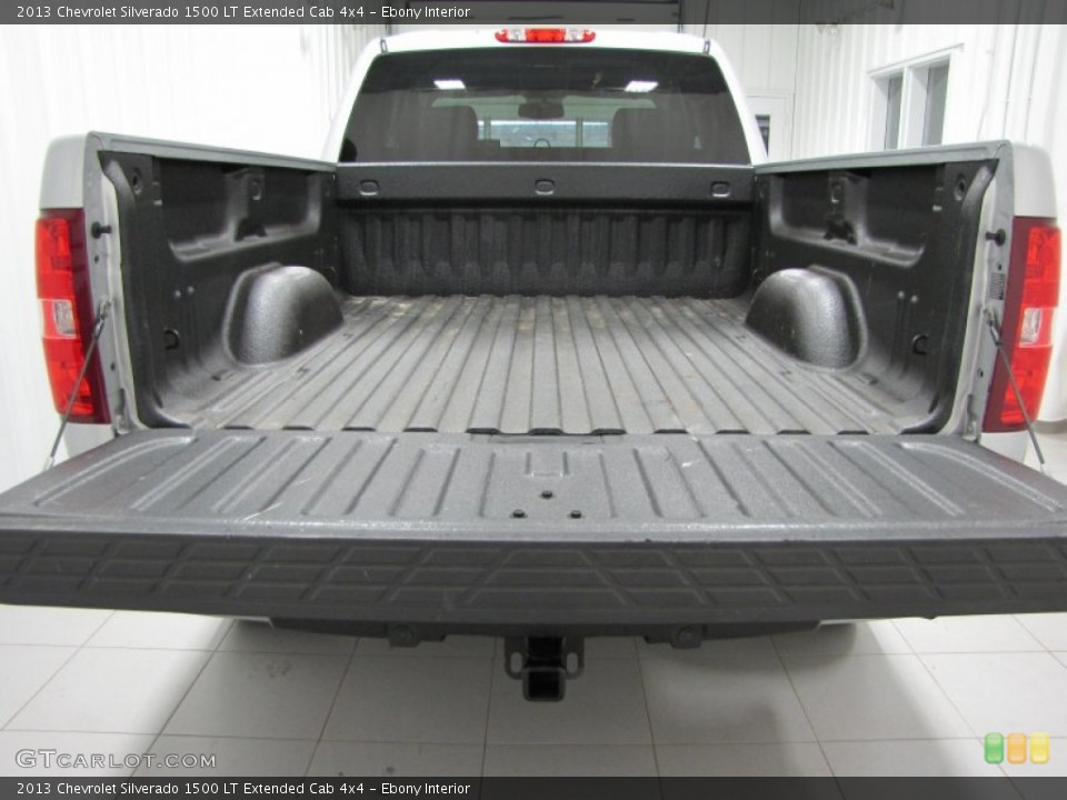 Ebony Interior Trunk for the 2013 Chevrolet Silverado 1500 LT Extended Cab 4x4 #74206465